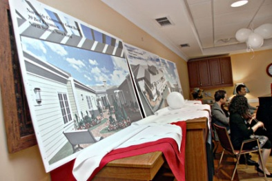 Images of what Cara House, the new 39-bed long-term care unit, will look like when complete.