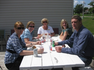 "Staff from the RBC North Sydney Branch join us for lunch at the ""Complete the Dream"" campaign BBQ August 13, 2010"